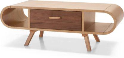An Image of Fonteyn Coffee Table, Oak and Walnut