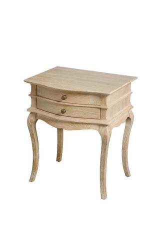 An Image of Les Milles Two Drawer Bedside Table
