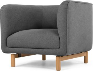 An Image of Becca Armchair, Marl Grey