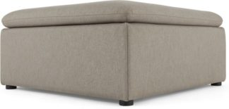 An Image of Victor Modular Sofa Storage Ottoman, Portland Grey
