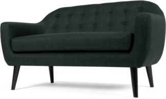 An Image of Ritchie 2 Seater Sofa, Anthracite Grey
