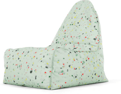 An Image of Ayra Bean Bag Chair, Iggy Print