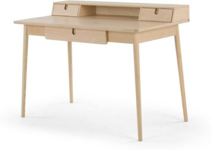 An Image of Penn Desk, Pale Ash and Eton Blue