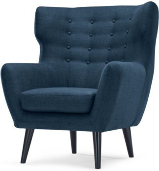 An Image of Kubrick Wing Back Chair, Scuba Blue