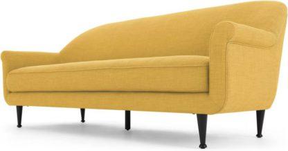 An Image of Jaina 3 Seater Sofa, Mikado Yellow