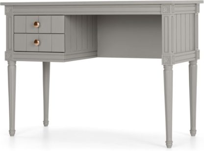 An Image of Bourbon Vintage Compact Desk, Grey