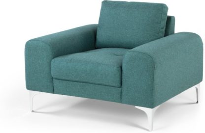 An Image of Vittorio Armchair, Teal