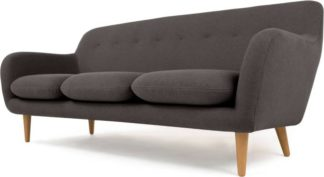 An Image of Dylan 3 Seater Sofa, Marl Grey