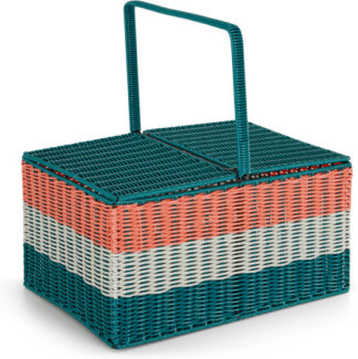 An Image of Ariba Rectangular Hamper, Multi