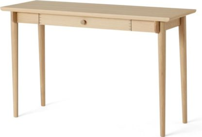 An Image of Gideon Console Desk, Washed Oak