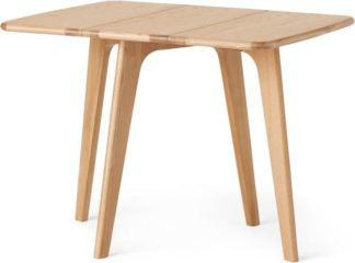 An Image of Fjord 2-4 Seat Rectangular Gateleg Table, Oak