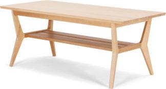 An Image of Jenson Coffee Table, Solid Oak
