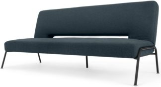 An Image of Knox Click Clack Sofa Bed, Aegean Blue