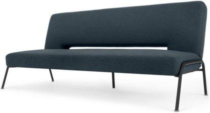 An Image of Knox Click Clack Sofa Bed, Aegean Blue