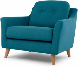 An Image of Rufus Armchair, Rich Azure