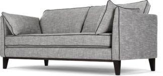 An Image of Content by Terence Conran Keston 3 Seater Sofa, Jet Grey