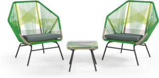 An Image of Copa Garden Aperitif Set, Citrus Green