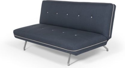 An Image of Miki Sofa Bed, Quartz Blue