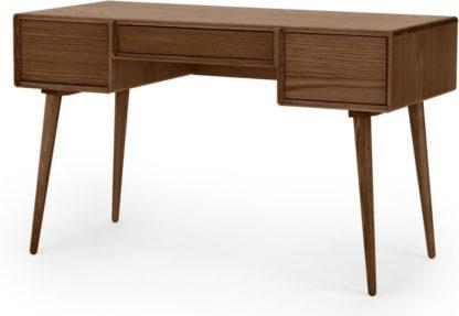 An Image of Glenn Desk, Dark Stain Oak