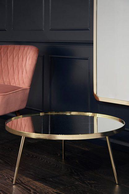 An Image of Panatella Brass Coffee Table