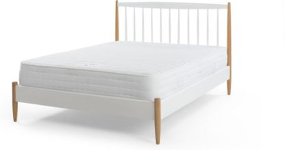 An Image of Nolby 1000 Pocket Latex Double Mattress, White