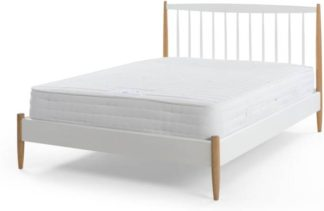 An Image of Malmeo 1000 Pocket Memory Foam Kingsize Mattress, White