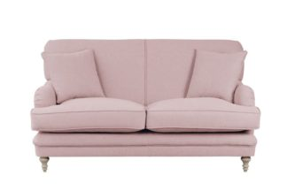 An Image of Madelein 2 seat sofa Blush Pink