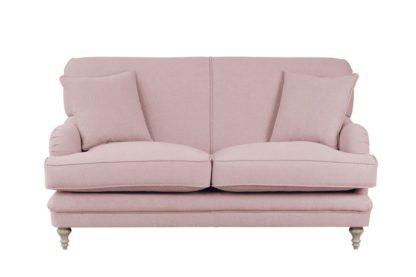 An Image of Madelein 2 seat sofa Blush Pink