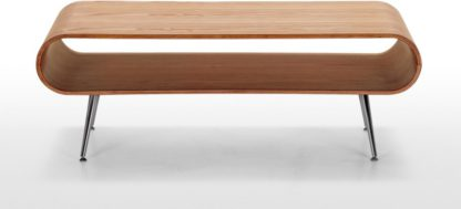 An Image of Hooper Storage Coffee Table, Natural Ash