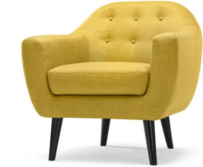 An Image of Ritchie Armchair, Ochre Yellow