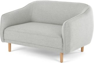 An Image of Haring 2 Seater Sofa, Silver Grey