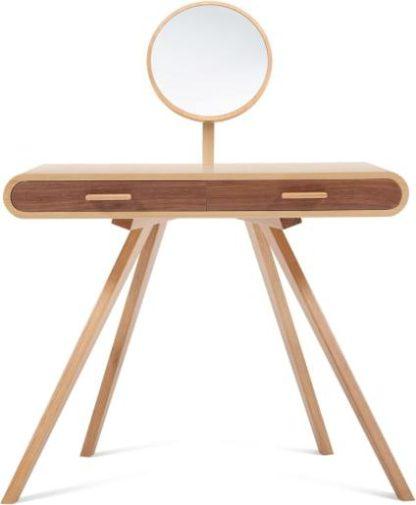 An Image of Fonteyn Dressing Table, Oak and Walnut