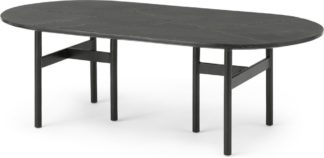 An Image of Tanaro Coffee Table, Black Marble and Brass