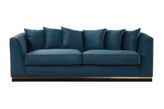 An Image of Pino Three Seat Sofa - Peacock