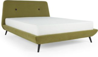 An Image of Edwin Double Bed, Juniper Green