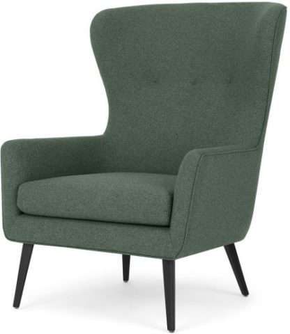 An Image of Shelby Accent Chair, Darby Green