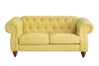 An Image of Buster 2 seat sofa Malaga Mustard