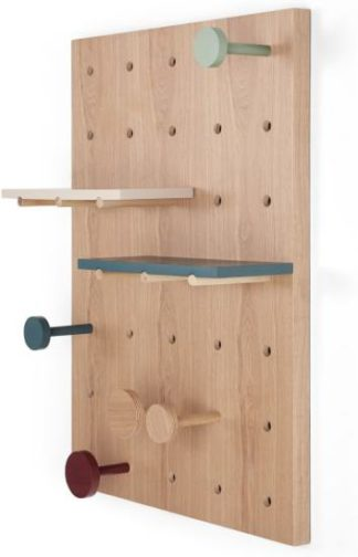 An Image of Dot Dot Dot Wall Storage Shelf, Multicolour
