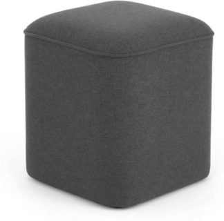 An Image of MADE Essentials Henri Pouffe, Marl Grey