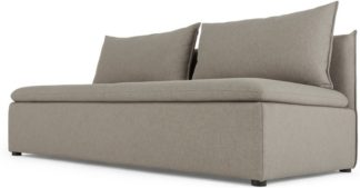 An Image of Victor Modular Sofa Double Seat, Portland Grey