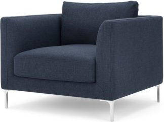 An Image of Dree Accent Chair, Storm Blue