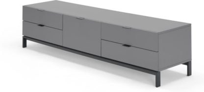 An Image of Marcell Wide Media Unit, Grey