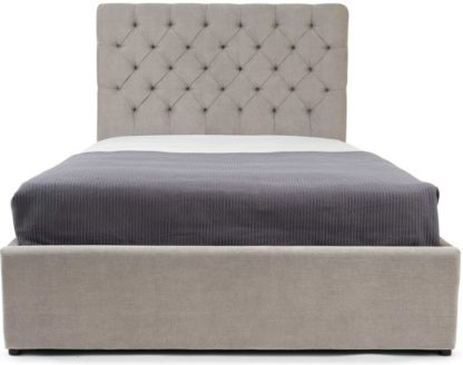 An Image of Skye Kingsize Bed with Storage, Owl Grey