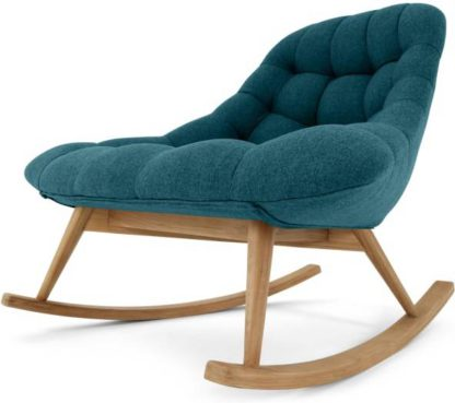 An Image of Kolton Rocking Chair, Mineral Blue