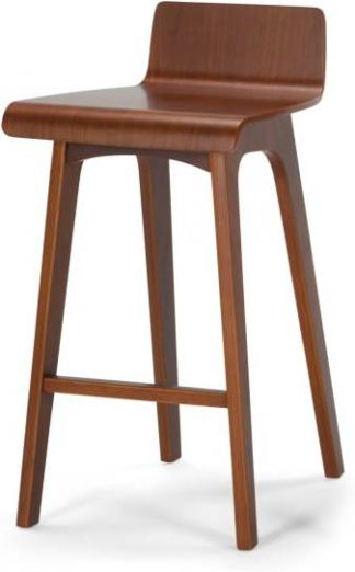 An Image of Devlin Barstool, Walnut