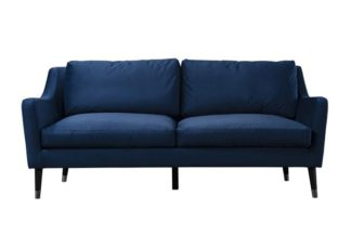 An Image of Dumont Three Seat – Blue