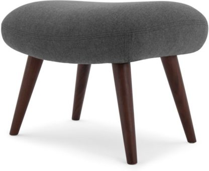 An Image of Moby Footstool, Marl Grey