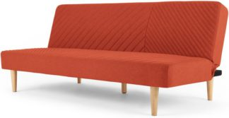 An Image of Ryson Click Clack Sofa Bed, Retro Orange