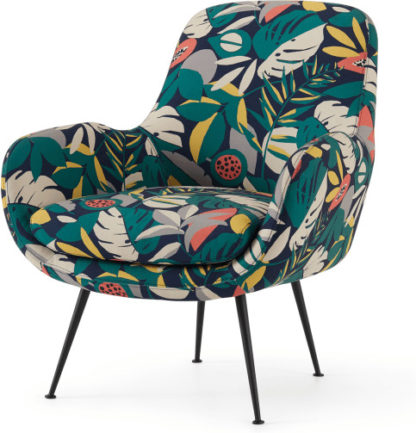 An Image of Moby Accent Armchair, Curator Pattern