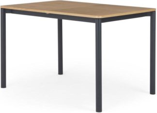 An Image of Made Essentials Mino 4-6 Seat Extending Dining table, Oak